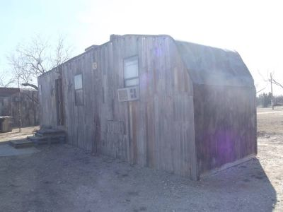 Cabins and Travel Trailer Cing for Rodeo Stock Show (West of San Angelo)