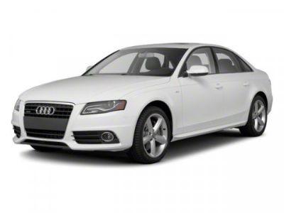 2012 Audi A4 2.0T quattro Premium Plus (Gray)