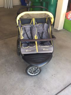 InStep double stroller jogger