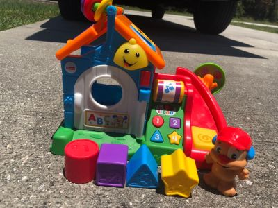 Fisher Price Puppy Interactive Shape Sorter
