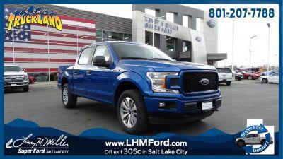 2018 Ford F-150 XL (blue)