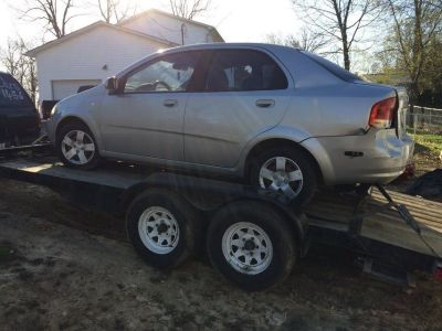 2007 Aveo for parts 143710 miles on motor & trans