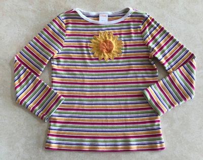 Gymboree Outlet Sunflower Smiles Size 5 Top