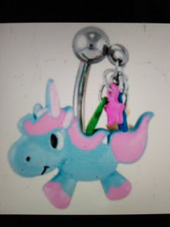 unicorn belly ring