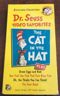 Cat in The Hat VHS
