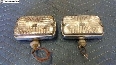 Vintage CIBIE IODE 35 Fog Lights (12v)