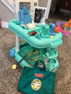 Fisher-Price Doctor Cart