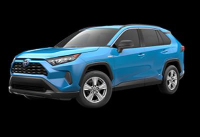2019 Toyota RAV4 Hybrid LE (Blue Flame)