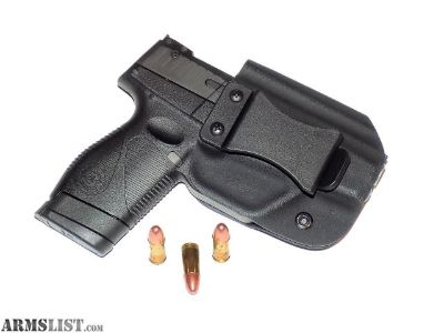 For Sale: Aggressive Concealment PTIWBLP IWB Kydex Holster Taurus PT709/PT740 slim