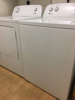 washer and dryer bought 2 yrs ago(available july 23 27