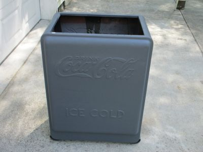 Vintage Coca Cola Ice Chest Cooler Shell Only