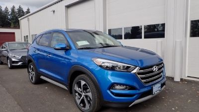 2018 Hyundai Tucson Limited (Aqua Blue)