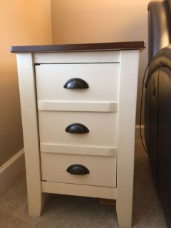 Pair of end tables for $60