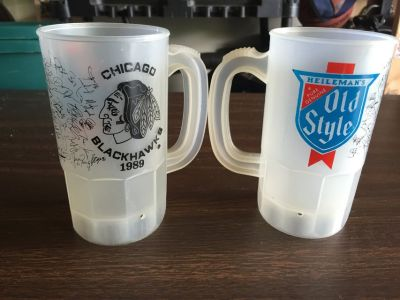Chicago Blackhawks Old Style Cups