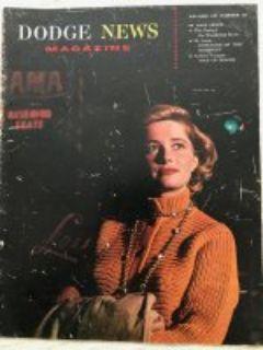 Dodge magazine. 1959
