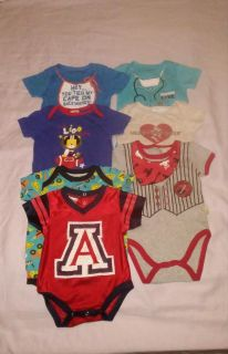 :: (7) size 3/6 months onesies excellent conditions BUNDLE DISCOUNT IF PURCHASE $25-$4