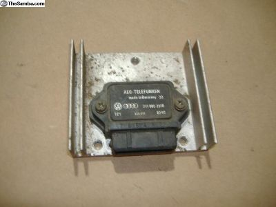 VW Vanagon ignition module 80-85 yr 211905351D