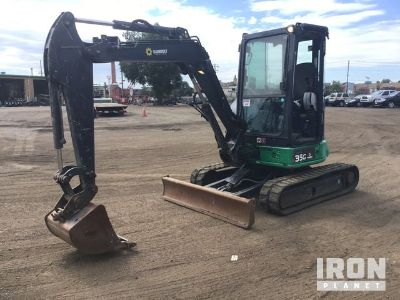 2013 (unverified) John Deere 35G Mini Excavator