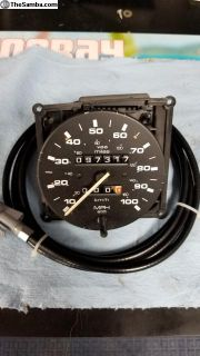 Vanagon speedometer and new cable