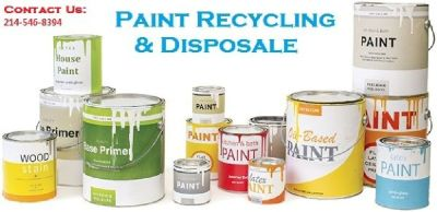 Dallas Paint Disposal: Oil Paint Recycling & Disposal Services Dallas, TX