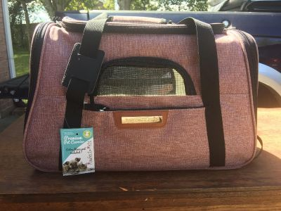 NWT pet carrier