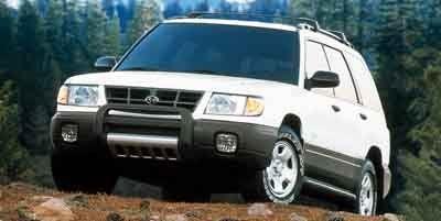 2001 Subaru Forester L (Acadia Green Metallic/Gray)