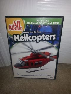 All About Helicopters/All About Boats and Ships dvd