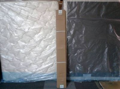 BED- PILLOWTOP MATTRESS SET BRAND NEW DELIVERY AREA WIDE FOR FREE