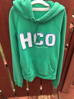 Hollister Girl s Hooded Sweat Shirt, Size S