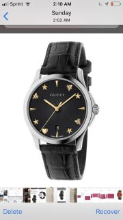 Gucci authentic automatic woman s watch