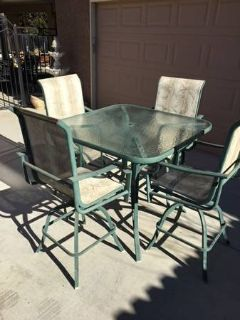 5-Pc Pub Style Patio Set