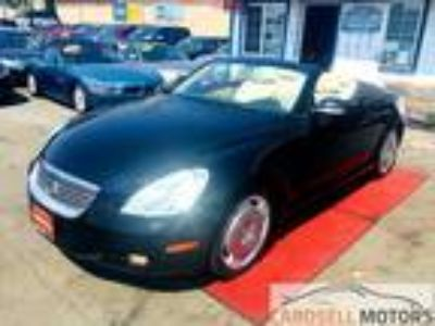 2002 Lexus SC 430 Convertible Black,
