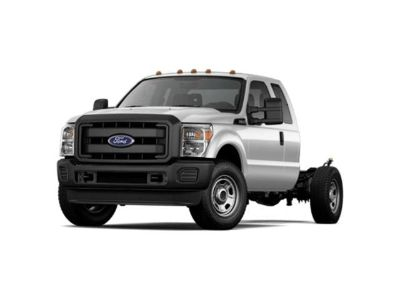 2015 Ford F-350SD (White)
