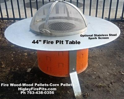 $299, Smoke Free Double Chamber  Fire Pit -100 Stainless Steel-Life Time Warranty