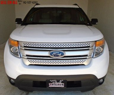 2014 Ford Explorer XLT (White)