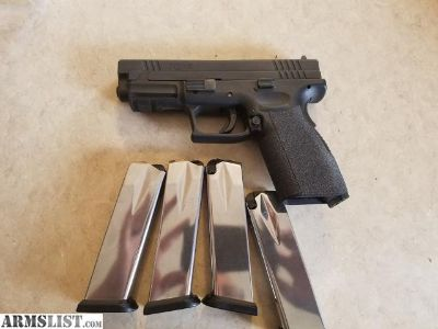 For Sale: Springfield xd 9mm