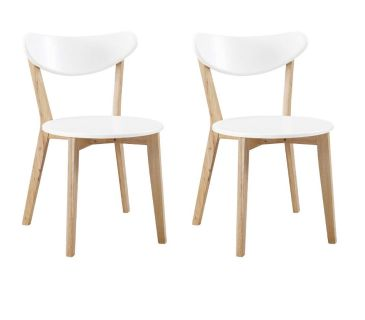 Set of 2 Retro Modern Dining Chairs