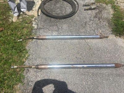 (2) Grundomat 75P Underground Piercing Tools RTR# 8083830-01
