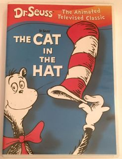 The Cat in the Hat! Original TV Classic! Great Condition! DVD