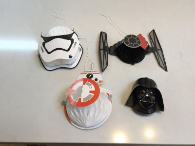 Star Wars party decor