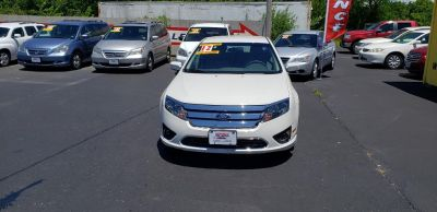 2012 Ford Fusion SE (White)
