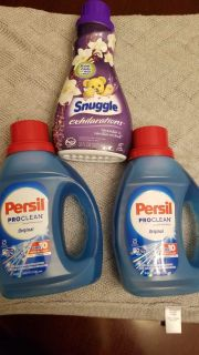 Persil and snuggle