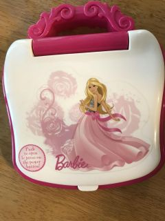 Barbie Laptop Learning Toy