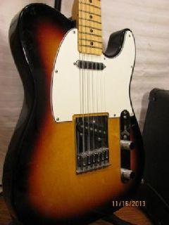 $500 OBO Sunburst Fender Telecaster and Marshall Park Practice Amp