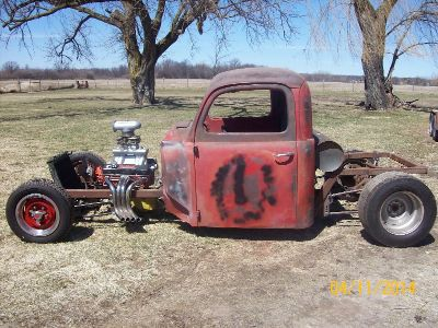 1950 Ford cab Rat Rod project
