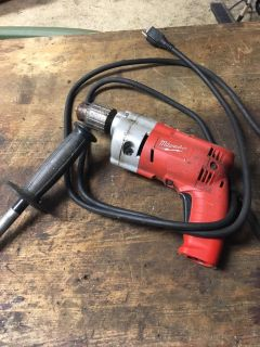 Half inch Milwaukee magnum electric drill