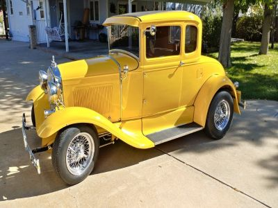 1931 Ford Model A 5 Window 2 Door Coupe Hot Rod