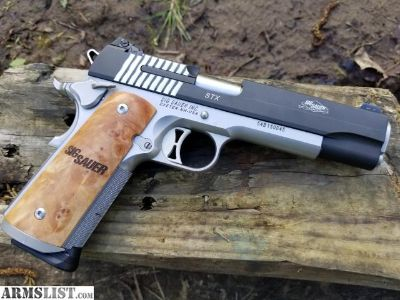 For Sale: Sig STX 45ACP - - - You won't be disappointed.