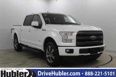 2016 Ford F-150 4WD SuperCrew 145 Lariat (Oxford White)