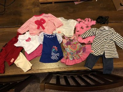 18 Doll clothes. Will fit American Girl